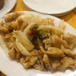 YAICHIRO - 鶏ハラミのレモンソース