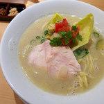 銀座 篝 - 鶏白湯SOBA(950円)