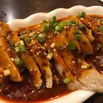 朋友雑穀食府 - 口水鶏