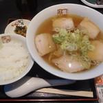 喜多方ラーメン 坂内 - 喜多方ラーメン¥650→¥480-