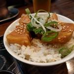 一基 - ミニ角煮丼