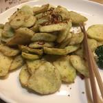 西安刀削麺酒楼 - ナスの素揚げ