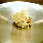 オルタナティブ - 黒イチジクとマスカルポーネ  山椒のメレンゲ
