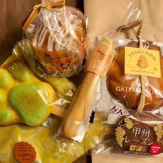 清月 - 料理写真:焼菓子色々
