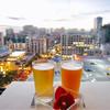 SKY Waikiki - ドリンク写真:ビールで乾杯!入店までは待ったけど、サンセットには間に合いました◎