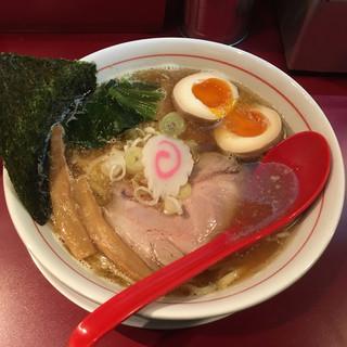 麺一盃 - 料理写真:喜多方 醤油中華そば 半熟味付玉子入