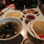 元祖中華つけ麺大王 - つけ麺、春巻き、チャーハン