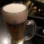 74339665 - 生ビール  (サントリープレミアムモルツ)