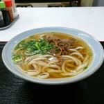 魚市場食堂 - 肉うどん[¥400]