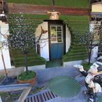 山cafe - お店の入り口