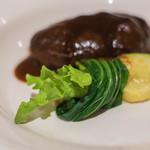 ラトゥール - 漢堡(ハンブルグ)、青梗菜(せいかうさい)