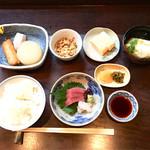 和旬 保莉 - 料理写真:お造りランチ  ¥1000