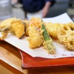 肥後もっこす - 天ぷら盛り合わせ1,600円
