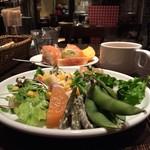 ナポリの食堂 アルバータ アルバータ - いっぱい取ってきてもーた(笑)