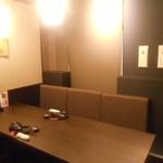 関内 個室肉バル 颯 - 店内1