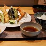 旨い料理・旨い酒 じょうじ - 天ぷら定食1700円