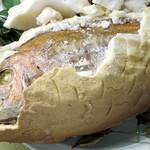 アロイ - 料理写真:鯛の塩釜