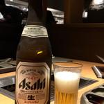 東京苑 - 瓶ビールで乾杯!