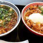 74346147 - 焼肉麺とかけラーメン