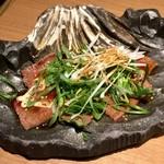 東京苑 - 九条ねぎとロースのカルパッチョ♪オススメ♪( ´▽`)