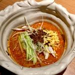 東京苑 - 冷し坦々冷麺のハーフサイズ