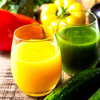 ≪野菜スムージー≫濃くてなめらか真空スムージーは美容健康に◎