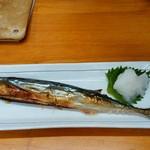 74348108 - 生秋刀魚塩焼き