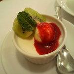 サーレペペ - セットのデザート