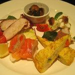 ガルボ - 料理写真:前菜盛り合わせ