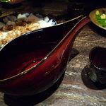 東麻布 逢坂  - 福島の特別純米酒『飛露喜』をいただきました♪