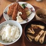 d47食堂 - 長崎 松浦港のアジフライ定食