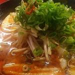 麺屋 一矢 - 赤辛ラーメン up