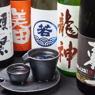 九州の地酒・季節限定の銘酒あります。ハイボールは強炭酸!