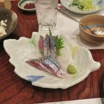 魚吉 - 鯖の刺し身