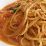 74353059 - ズワイ蟹と渡り蟹のトマトソーススパゲティ