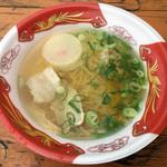めんきち - 料理写真:「北海道函館の黄金塩らぁめん」500円(大つけ麺博 大感謝祭)