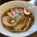 寿製麺 よしかわ - 川越醤油らーめん鶏(750円)