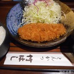 竹はし - ロースかつ定食