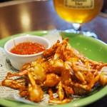 74354120 - 蟹のフリット サルサソース