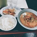 めんきち - 料理写真:ネギラーメンセット
