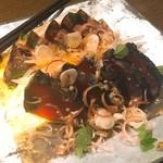 和彩dining 花 - 戻り鰹のたたき (みょうが 自家製ポン酢)