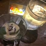 和彩dining 花 - 下仁田大トロ蒟蒻  (自家製酢味噌)