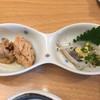 鮨いの上 - 料理写真:白魚とたらこ