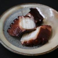 鮨 福元 - 蛸の桜煮(おまかせコースの一品です)