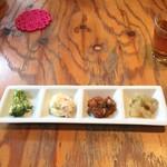CAFE TARO - 日替わりランチの前菜