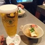 いけのや - 生ビールはハートランド
