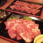 肉将軍 風林火山 - 肉たち