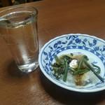 手打ち蕎麦 朝日屋 - 久保田千寿、山菜おろし