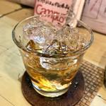 ぶんた - ウイスキー43度 ロック 450円