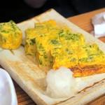 居酒屋 海斗 - 青さ海苔の出し巻き玉子¥600